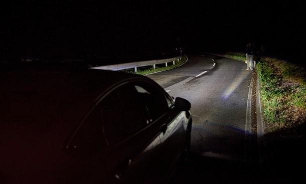 El sistema nos ha reconocido e iluminado con  sus LED - Spot Lightning