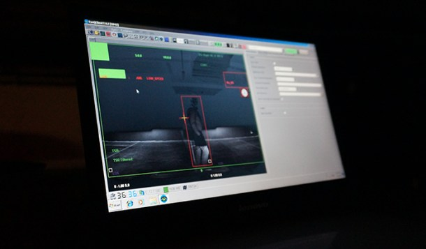 Muestra del procesamiento  de datos que realiza el ordenador del coche - Spot Lightning