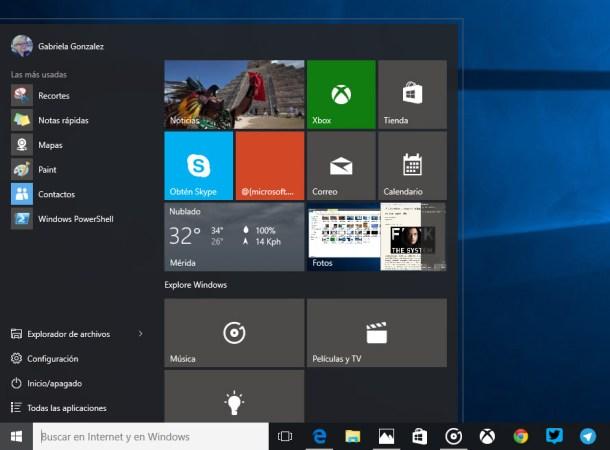 build 10159 de windows 10