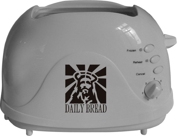 jesucristo en una tostada