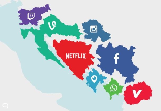 El nuevo mapa del vídeo en Internet. Lo que hoy es YouTube mañana serán decenas de servicios especializados.