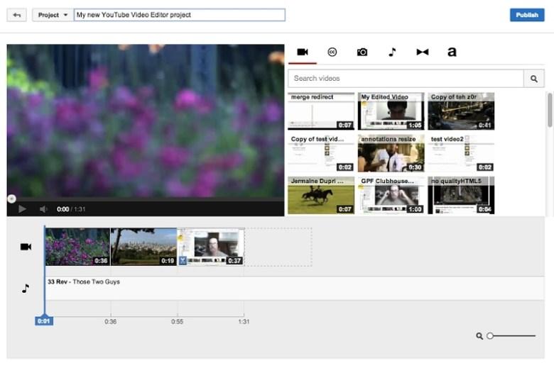 Editar video online