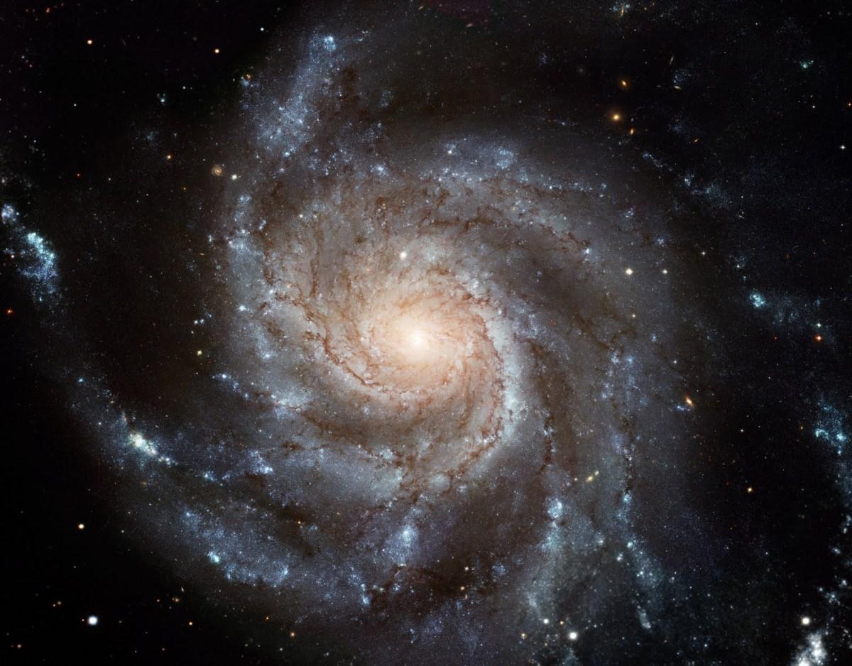 materia oscura alrededor de las galaxias