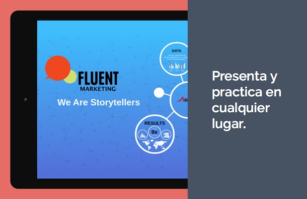 Crear presentaciones en Android