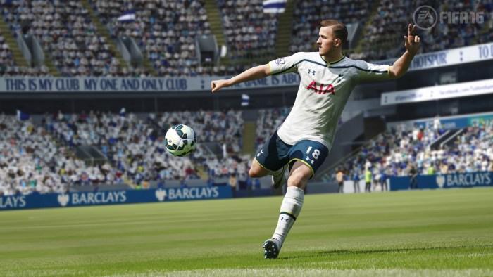 Harry Kane, revelación de la Premier League 2014-2015, todavía está a medio cocer en FIFA 16.
