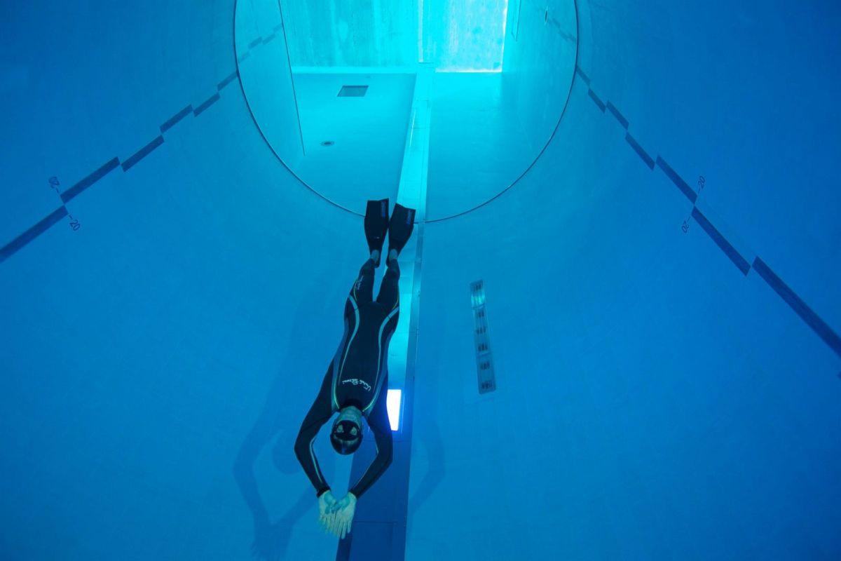 La piscina más profunda