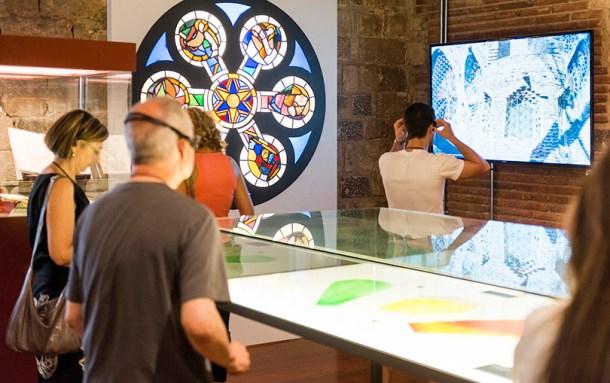 Exposición Paseando con Gaudí en Museo Diocesano de Barcelona