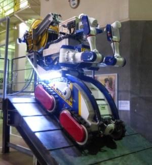 Robot que entrará en pruebas. Foto de Mitsubishi Heavy Industries. Ltd