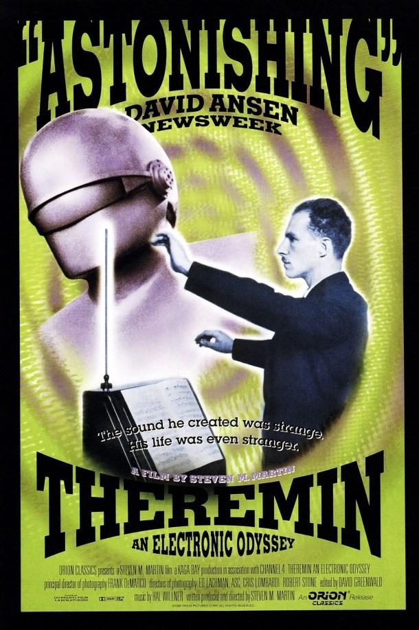 "Póster utilizado para el documental ""Theremin: An Electronic Odyssey"". Créditos: Everett/REX"