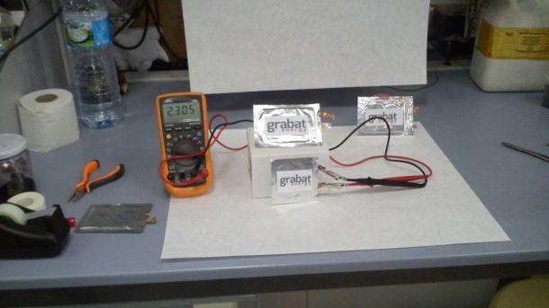 baterías de grafeno
