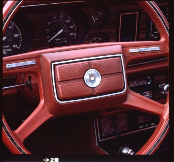 volante del Ford Mustang