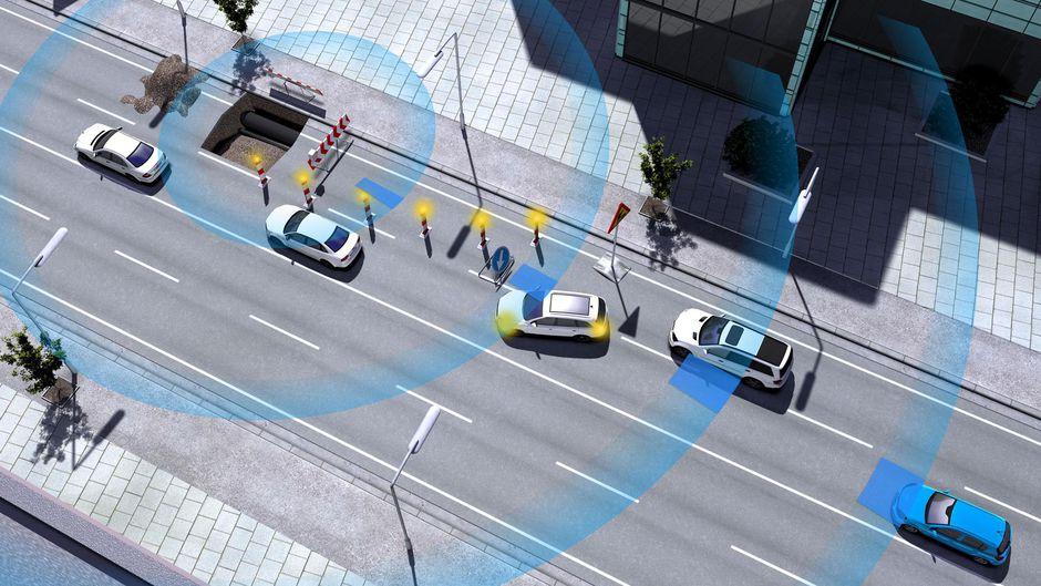 comunicación entre coches