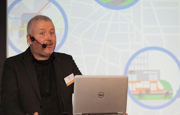 Will Farrel, departamento innovación de Ford Europa - Cologne Game Lab