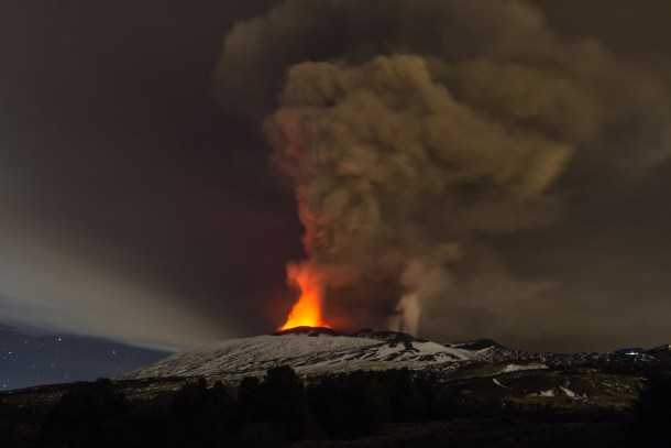 Erupcion Etna 3