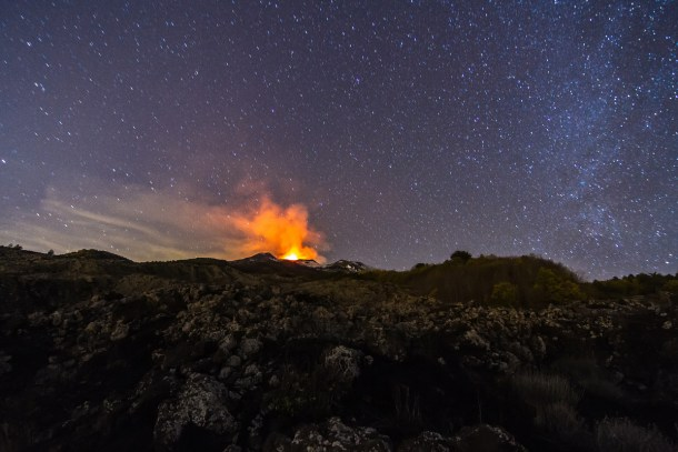 Erupcion Etna 7