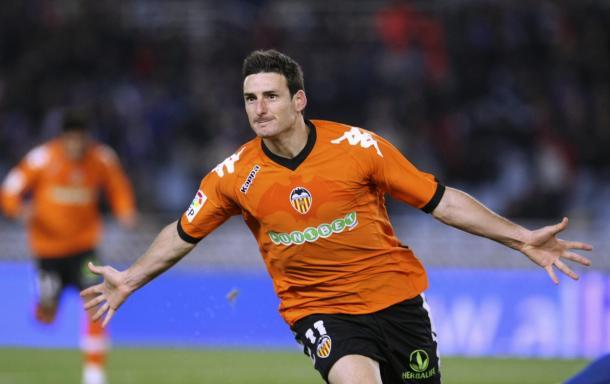 Unibet, patrocinador del Valencia entre 2009 y 2011.