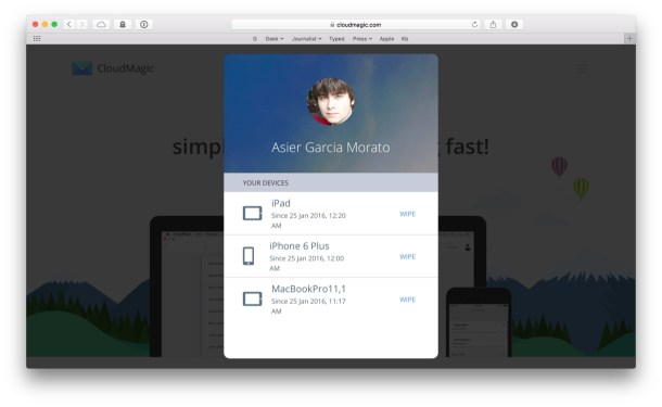 Remote-swipe-CloudMagic
