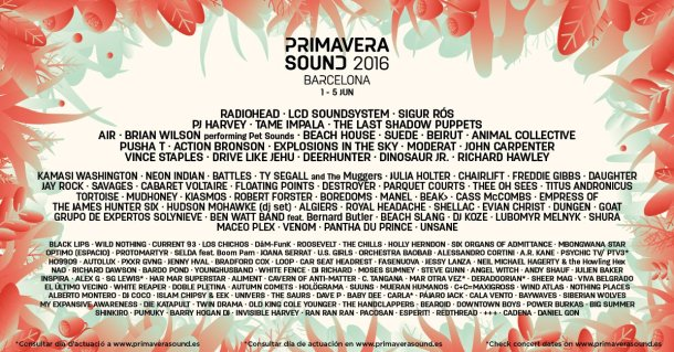 cartel del primavera sound