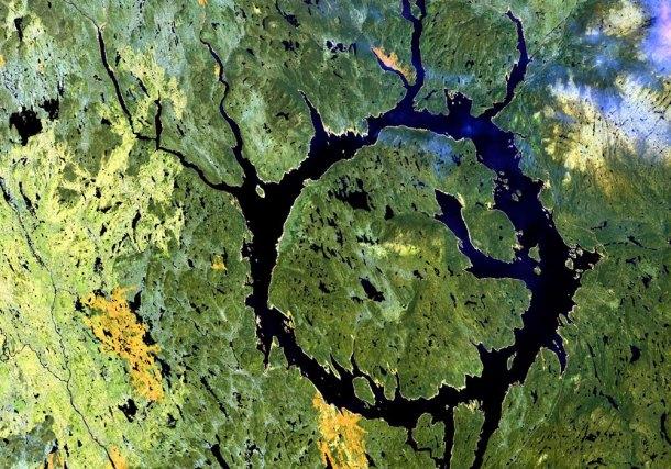 mayores meteoritos