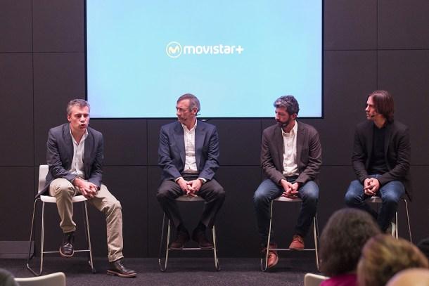 Presentación de la estrategia de Movistar+ con proyecciones propias. Fotografía: Movistar+