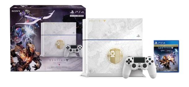 Esta edición blanca de PS4 para Destiny es PRE-CIOSA.