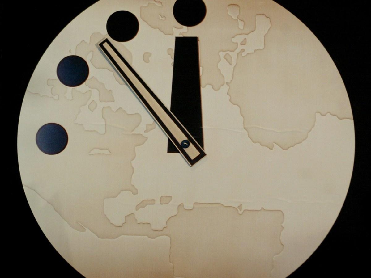 reloj del apocalipsis