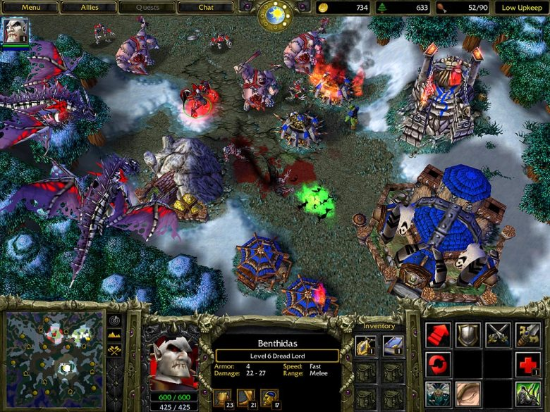 'Warcraft III: Reign of Chaos'