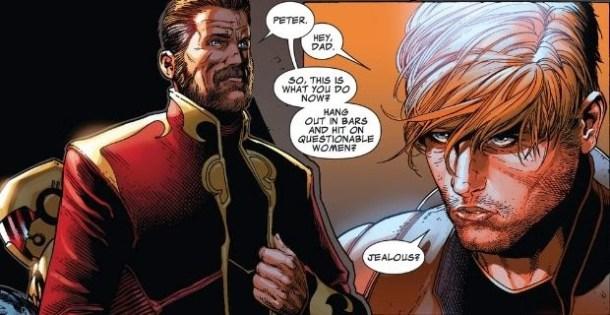 """J'son, el padre de Peter en los cómics, será """"muy distinto"""" en la película."""