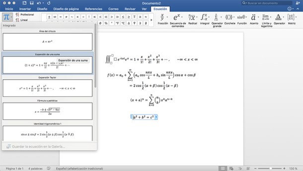 Ecuaciones matemáticas a las que poder cambiar las variables para encontrar solución.
