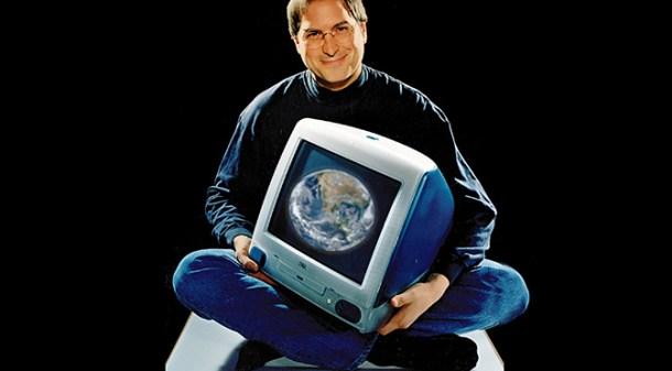 Steve Jobs a su vuelta paró todo en Apple, para lanzar el iMac.