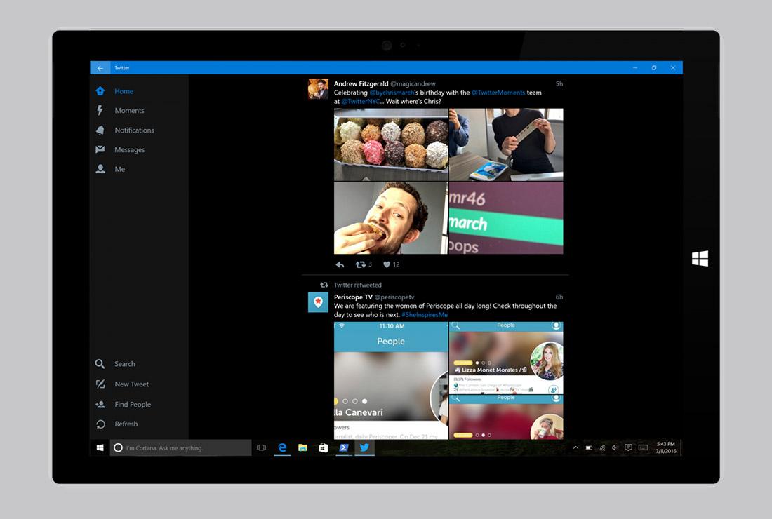 twitter para windows 10