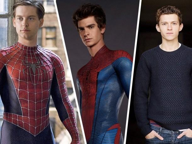 Tres Spiderman en 14 años que han pasado por 6, pronto 7, películas.