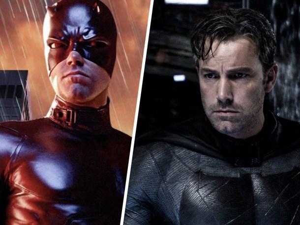 Ben Affleck hizo el mejor Batman tras hacer un penoso Daredevil. Internet se comió sus palabras.