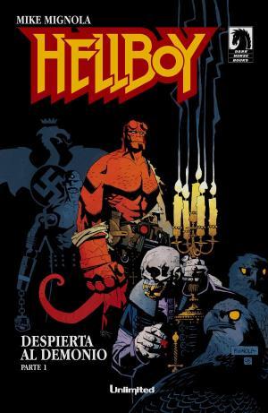 Hellboy, portada. Fuente: HijosDelÁtomo