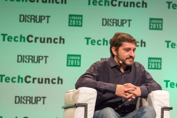 Agustín Gómez, uno de los fundadores de Wallapop. Fuente: Techcrunch