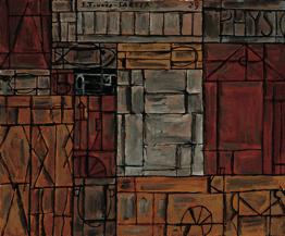 Joaquín Torres-García. Physique. 1929. Colección Telefónica. © Sucesión Joaquín Torres-García, Montevideo 2016 (detalle).
