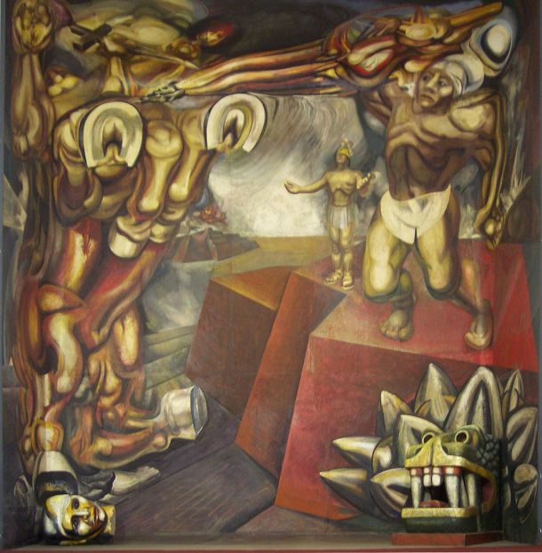 By David Alfaro SiqueirosGengiskanhg (own photo with perspective edition by the GIMP) [GFDL or CC-BY-SA-3.0], via Wikimedia Commons