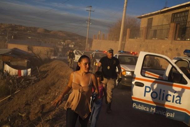 Violencia callejera en Mexico 12 niña
