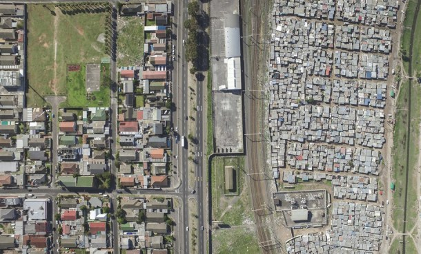 fotografia aerea riqueza pobreza 11