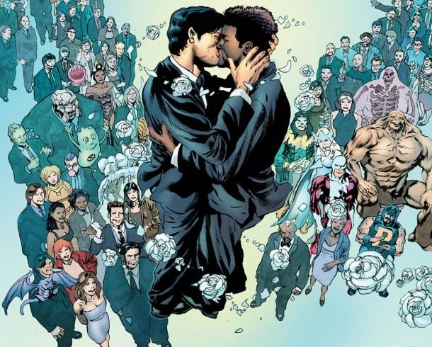 La boda de Northstar y Kyle, momento clave en los cómic de Marvel.