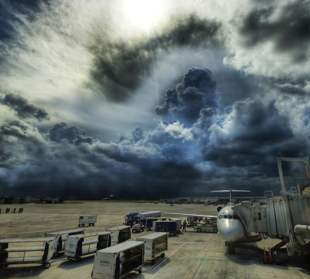 vuelos tormenta