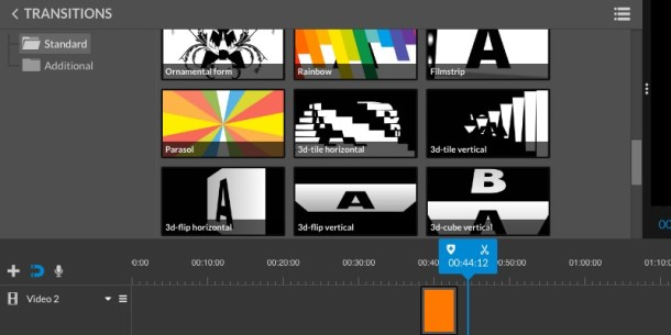 WeVideo Transitions