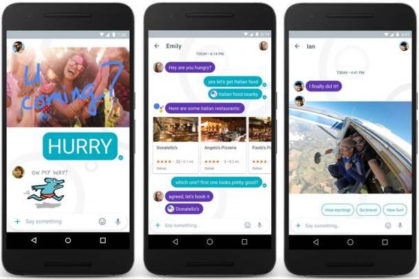 Allo es la app hermana de Duo centrada en la mensajería.