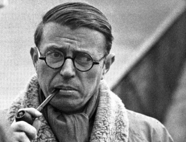 Sartre también es responsable por inventar el estilo hipster moderno.