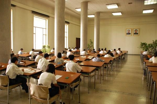 pyongyang-students