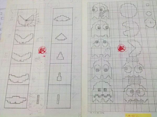 pac-man-original-drawings-toru-iwatani-4
