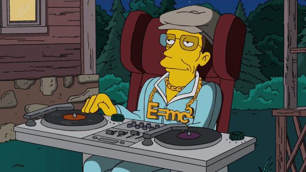 ciencia en los Simpsons