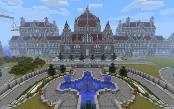 Respetamos mucho a los arquitectos y eso, pero algunos jugadores de Minecraft merecen aún más elogios.