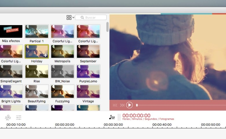 Filmora de Wondershare. Edición de vídeos.