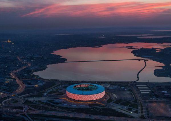 Estadio nacional de Baku. Victor Romero.